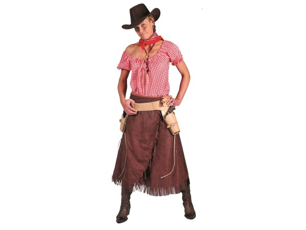 cowgirl diana damen kost m xxl xxxl western girl fasching karneval 8963 ebay. Black Bedroom Furniture Sets. Home Design Ideas