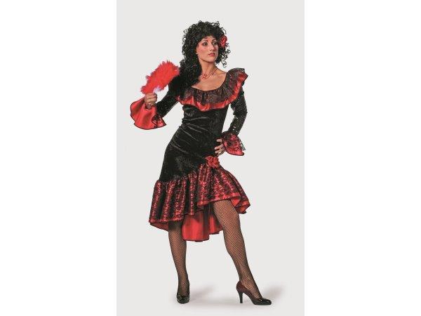 spanierin luxus kost m damen flamenco seniora karneval fasching party ebay. Black Bedroom Furniture Sets. Home Design Ideas
