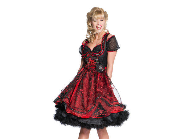 edles stockerpoint midi dirndl set c g monaco 60er rot. Black Bedroom Furniture Sets. Home Design Ideas