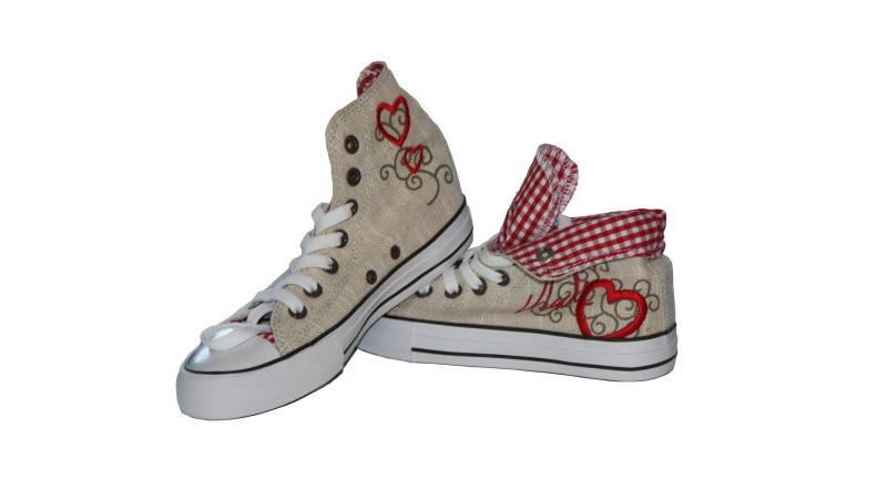 sneaker damen rot trachtenschuhe dirndlschuhe schuhe sneakers 4104 9 ebay. Black Bedroom Furniture Sets. Home Design Ideas