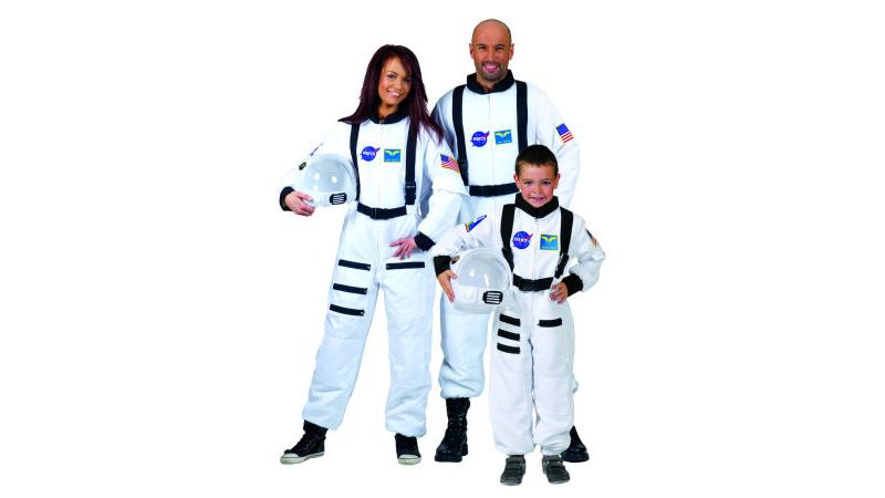 Astronauten Overall Weiss Unisex Gr Xs L Astronaut Weltall Kostum