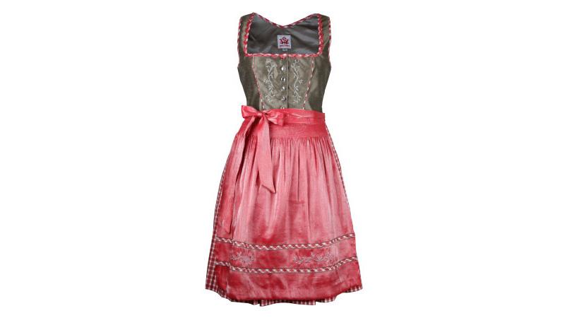 Farben Kleid Trachtenkleid Spieth /& Wensky Midi Dirndl Winona 55er Länge vers